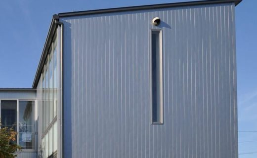ガルバリウム鋼板の外壁