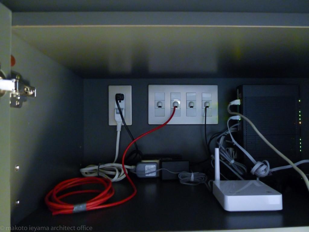 弱電中継ボックス