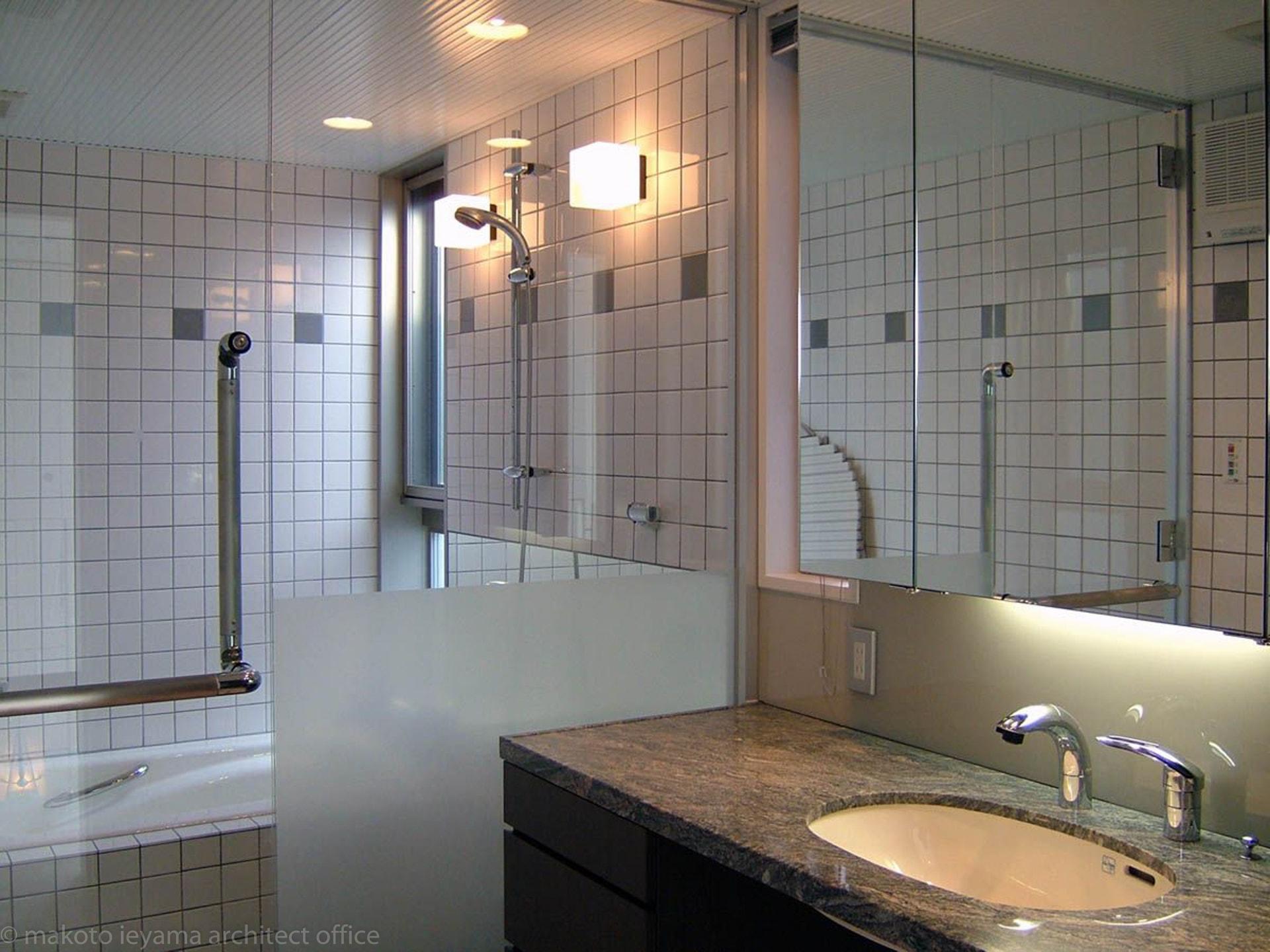 久安の家 洗面所