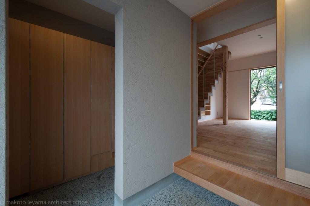 東山の家2 玄関