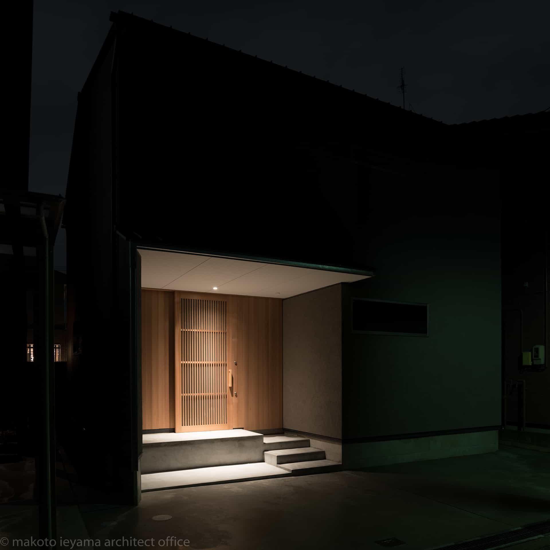 東山の家2 外部照明