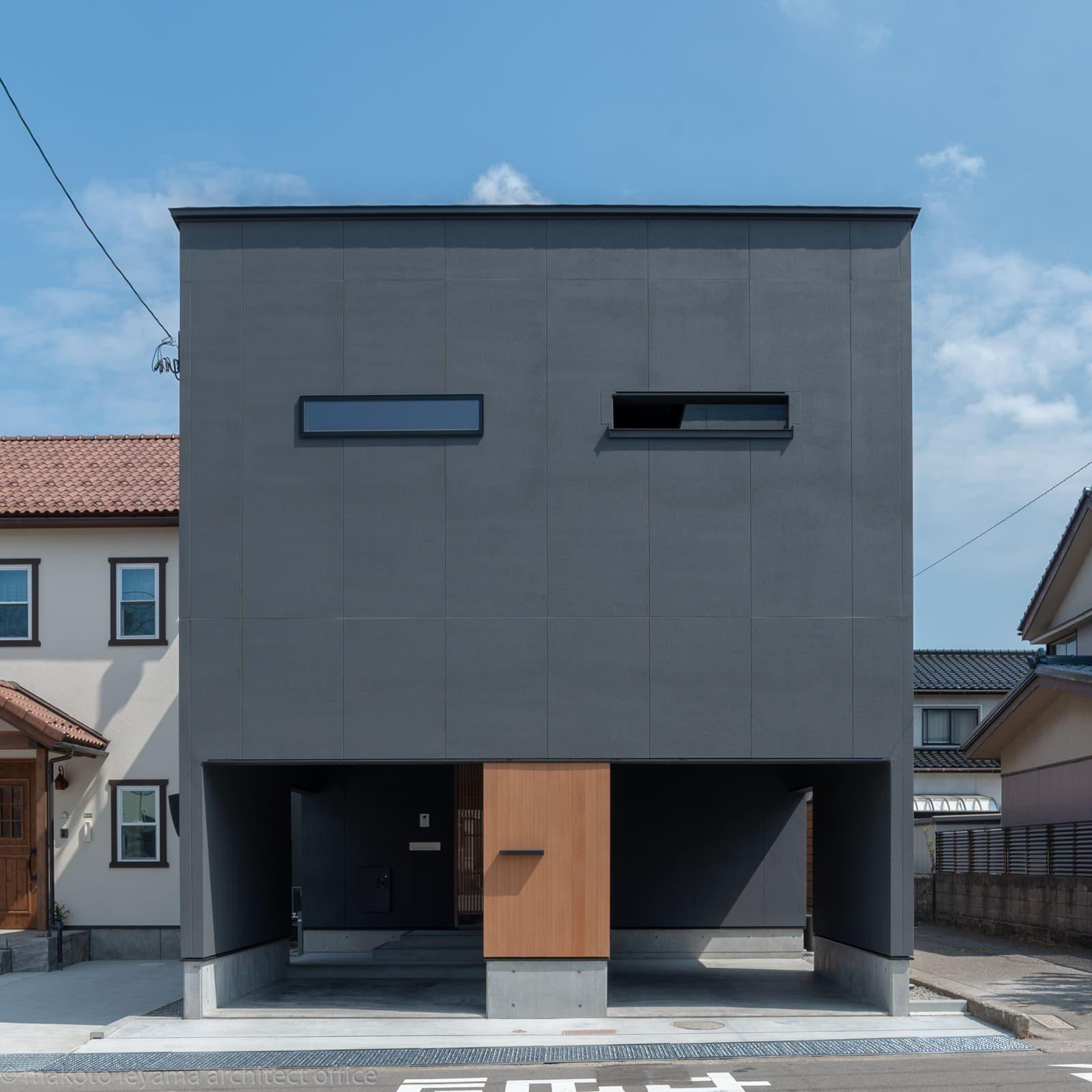 円光寺の家ファサード