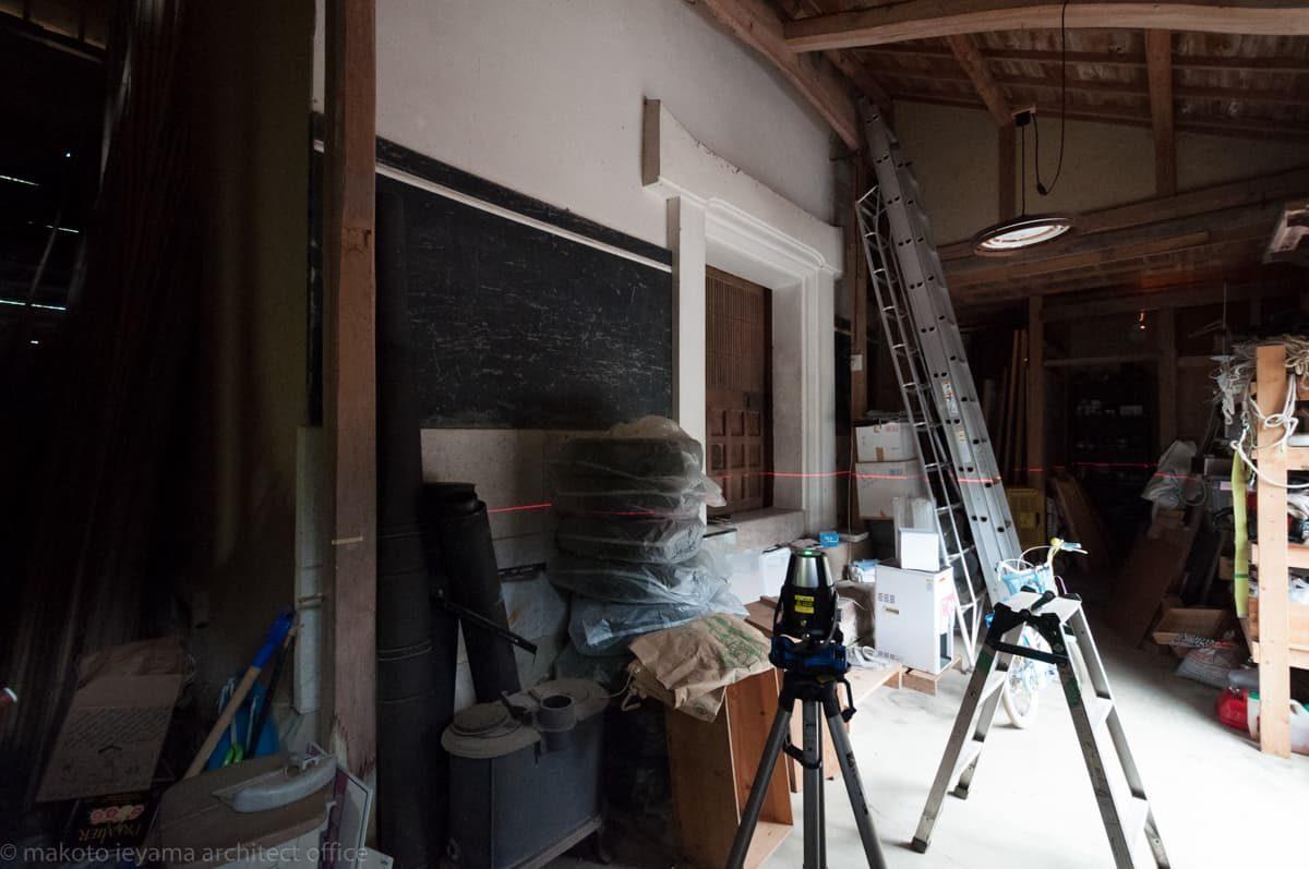 八幡の土蔵 改修工事の調査
