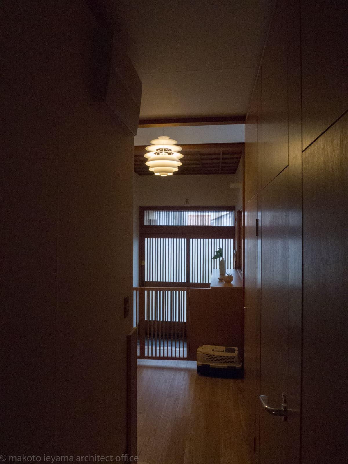 スノーボール 末町の家玄関ホール