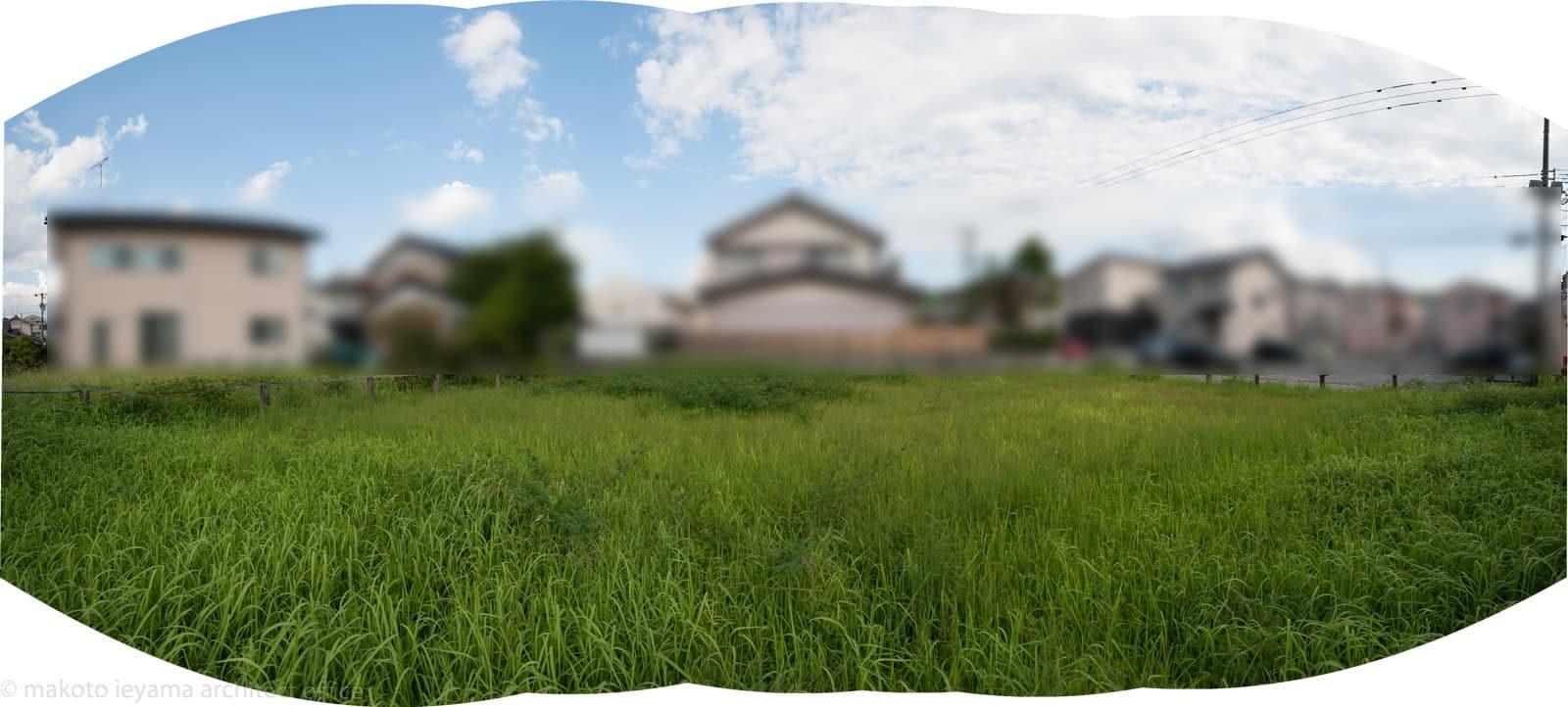 敷地調査パノラマ写真
