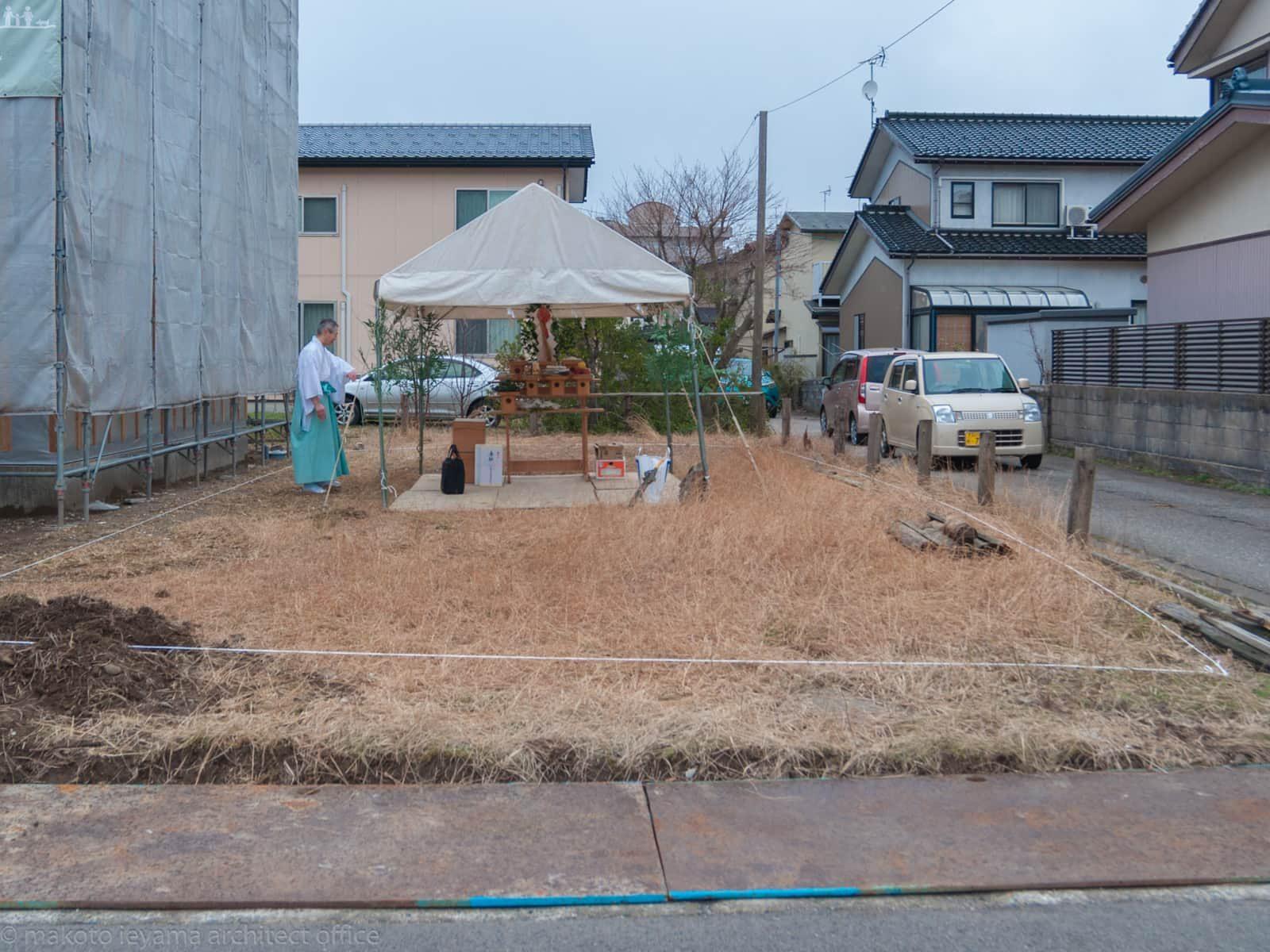 円光寺の家 地鎮祭
