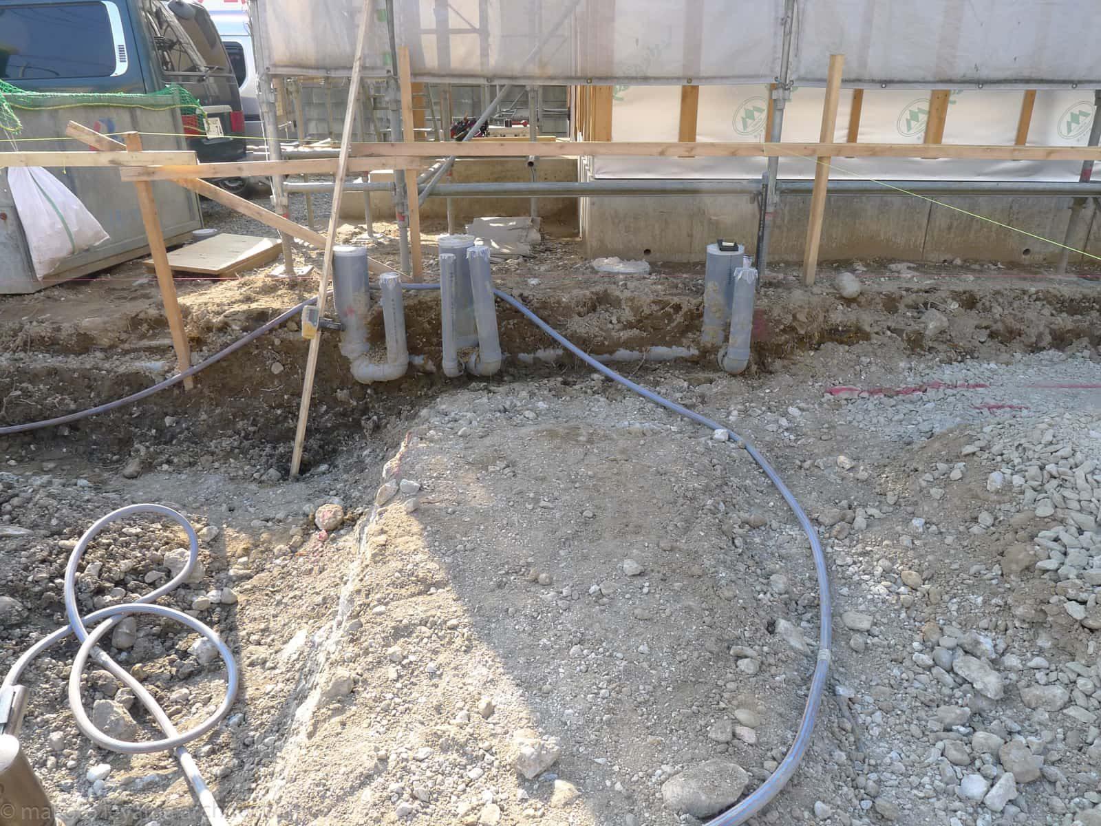 屋外排水工事