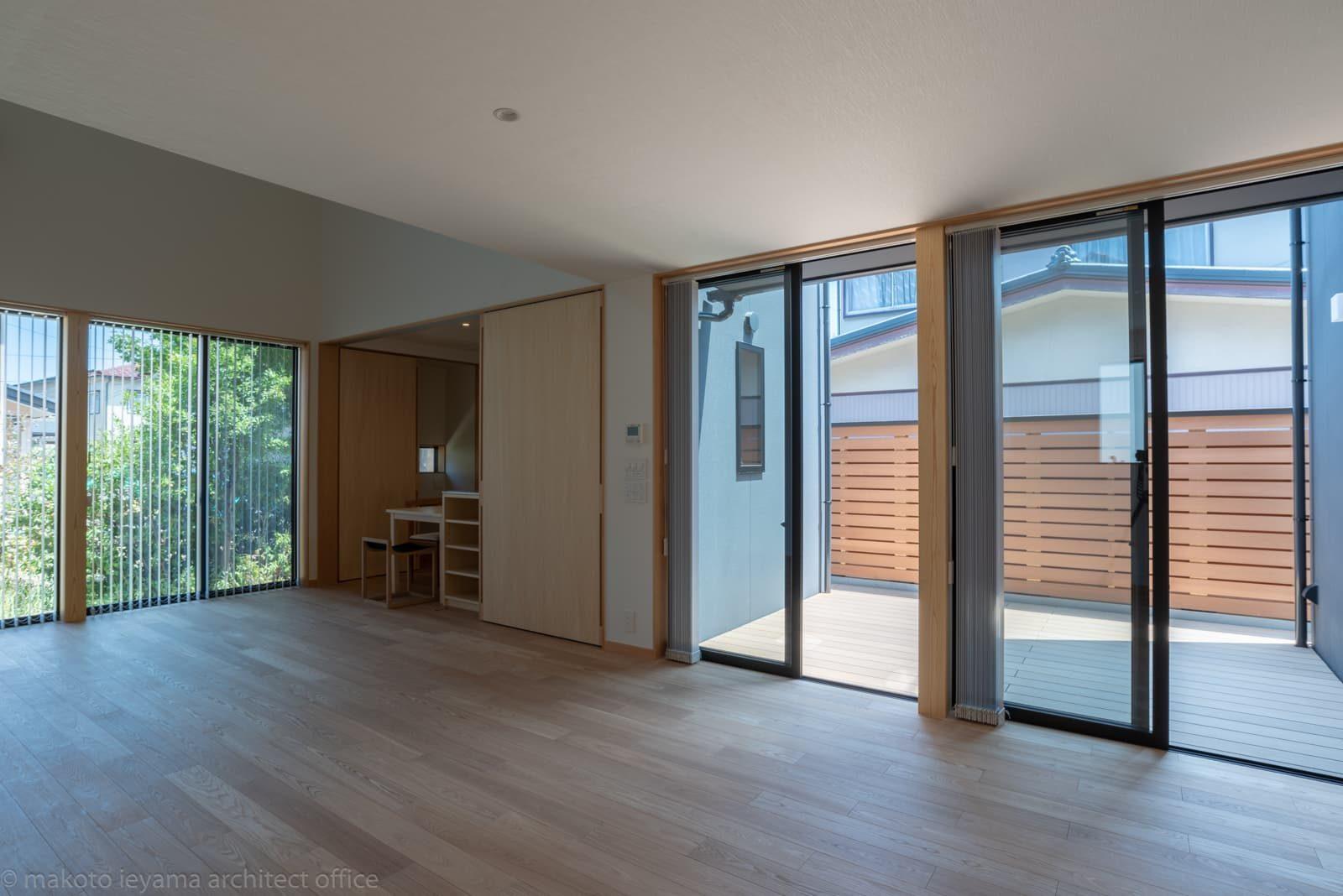 円光寺の家 リビング