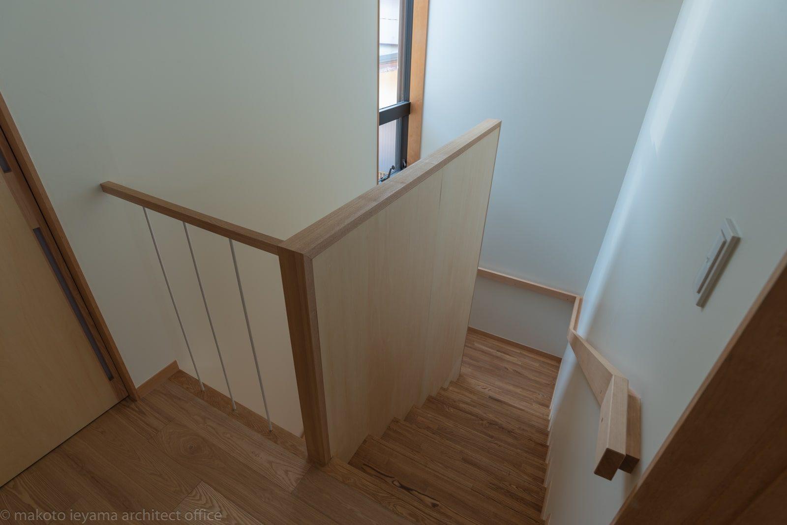 円光寺の家 階段