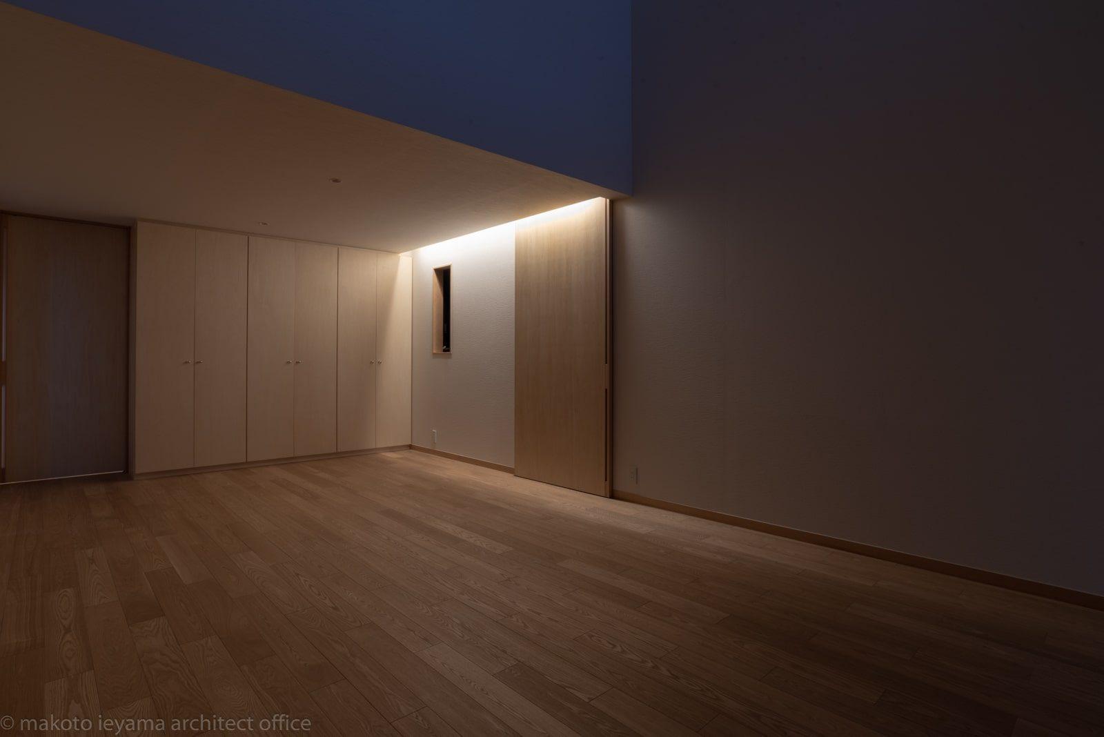 円光寺の家 リビング間接照明