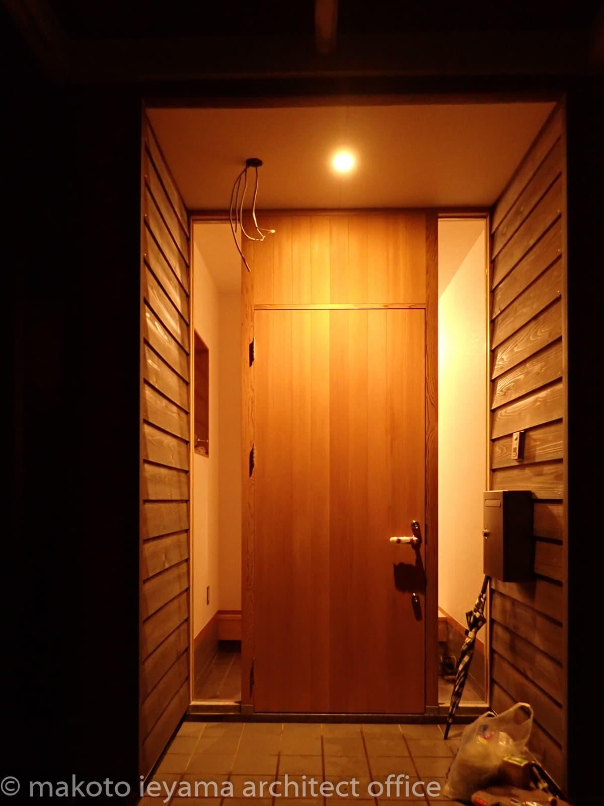 米杉の玄関ドア