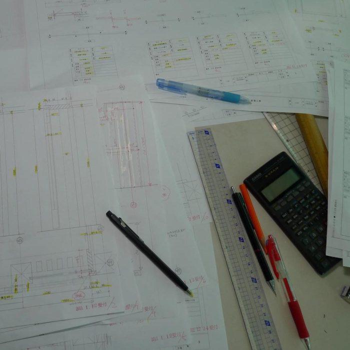 南砺市の家 施工図チェック