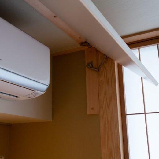 リビングのエアコンはどこに設置するか