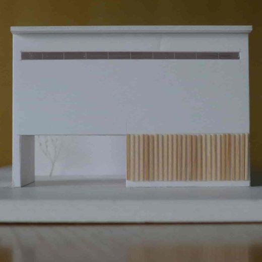 尾張町計画スタディ模型