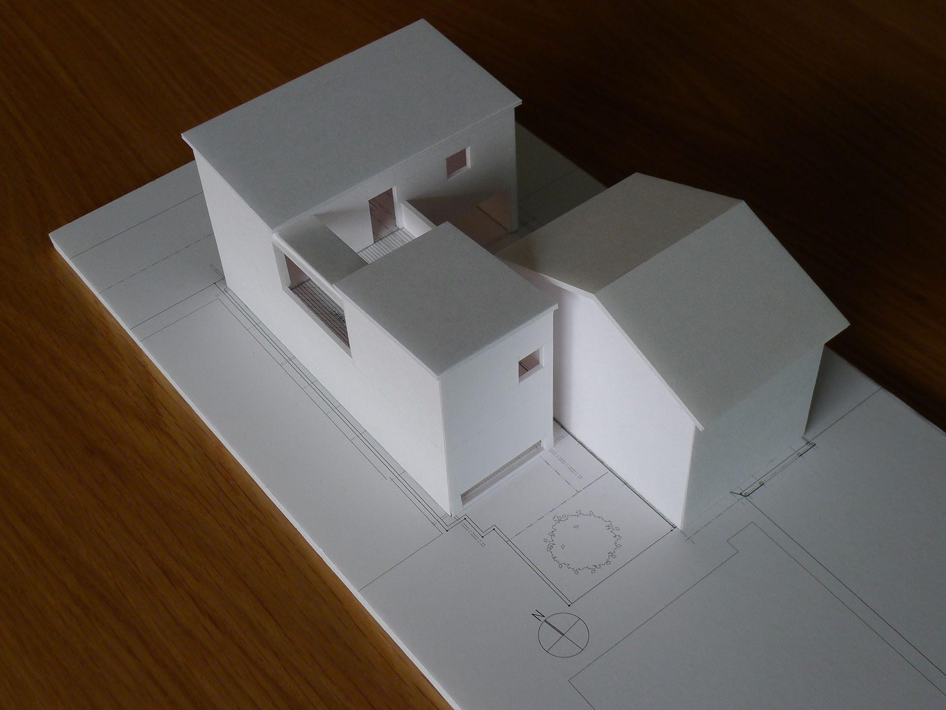 尾張町計画模型