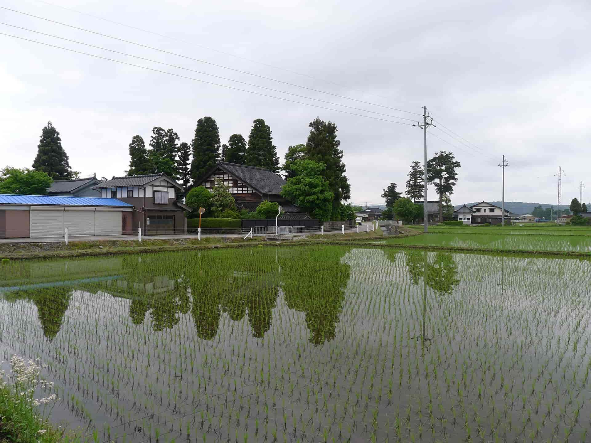 散居村の風景