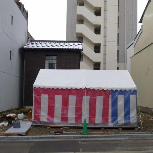尾張町計画 地鎮祭