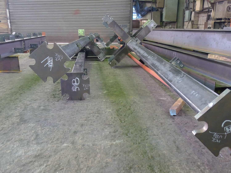 尾張町計画 鉄骨製品検査