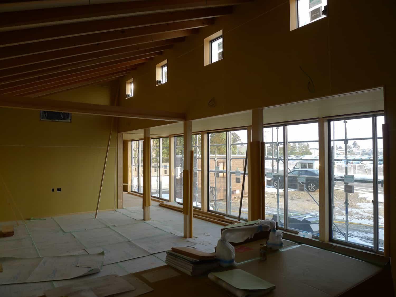 南砺市の家 大工工事完了