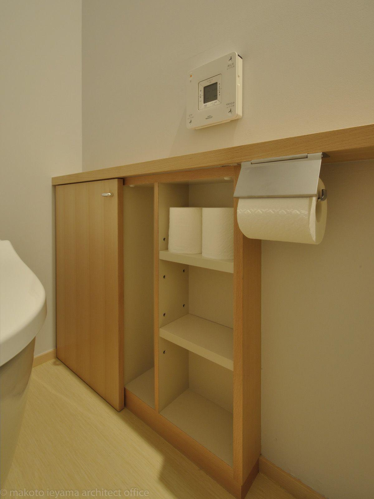 トイレの収納カウンター