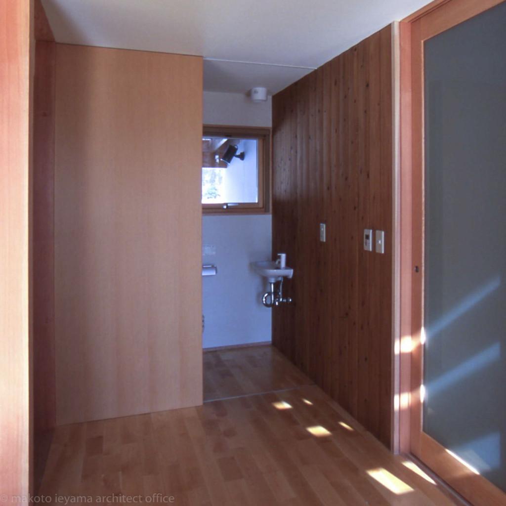 トイレの引戸