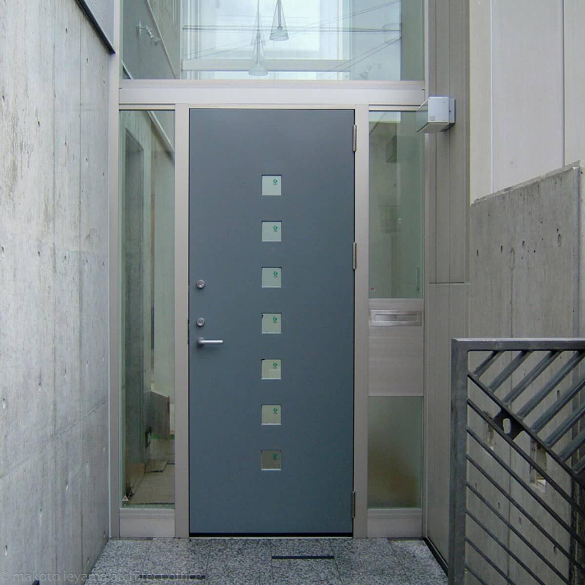久安の家 玄関ドア