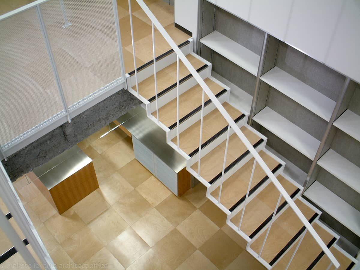 階段 フラットバーささら
