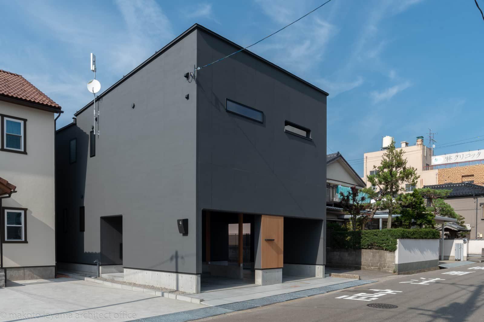 円光寺の家 玄関アプローチ